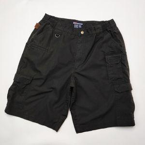 5.11 Tactical Black Pro Shorts Cargo Style Size 34